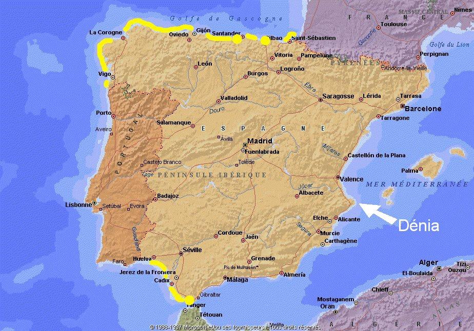 Location de maison en Espagne   Dénia
